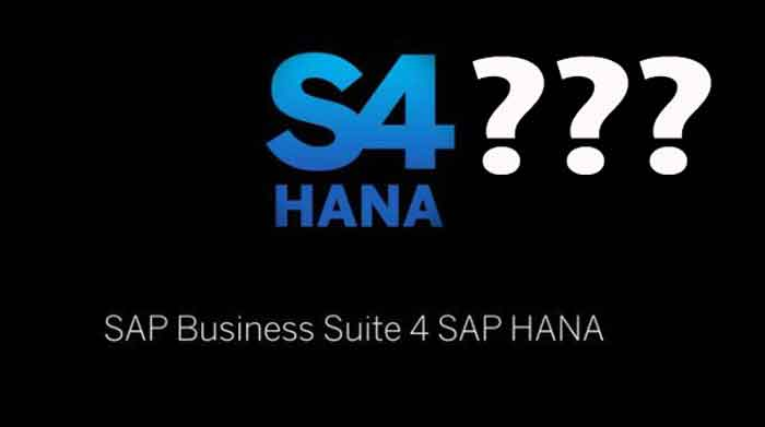 SAP S/4 HANA - the numbers and the business case