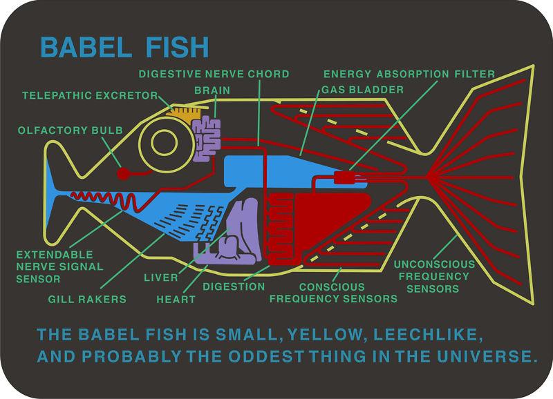 Image result for babel fish image
