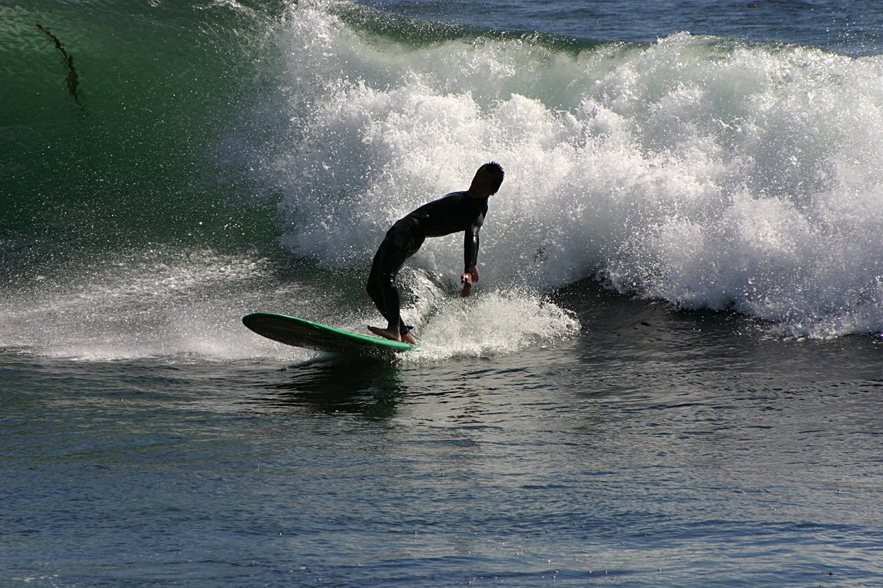 Surfing The Shock Wave
