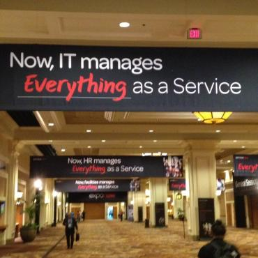 Heh Wall Street, check out the customer love for ServiceNow!