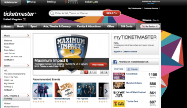 Ticketmaster is using Splunk to improve the ticket buying