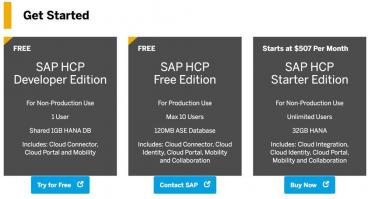 SAP HCP pricing is here but the site is almost unusable