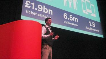 Mark Holt Trainline speaking at New Relic 2016-02 700px
