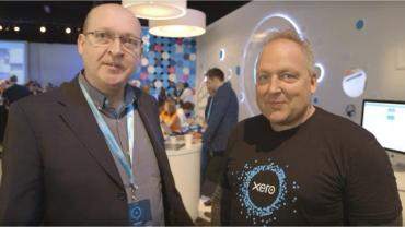 Phil Wainewright interviews Xero CEO Rod Drury at XeroCon London 2016