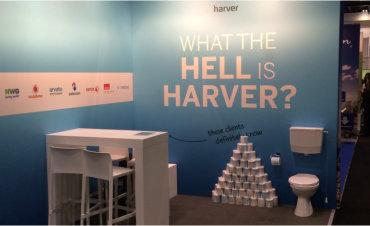 Harver stand at HR Tech London 370px