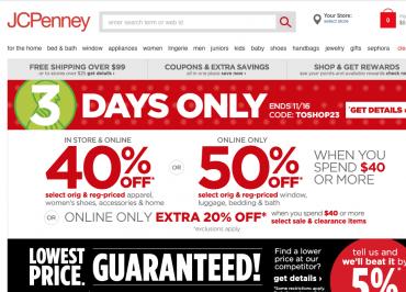 ada174c35e54 JC Penney looks for Black Friday digital bounce