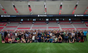 Traction on Demand Full Team at BC Place May 2016