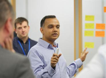 Mayank Prakash, DWP's Director General, Chief Digital and Information Officer