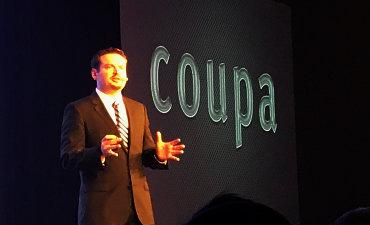 Rob Bernshteyn CEO Coupa on stage Inspire17 370px by @philww