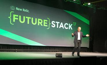 Lew Cirne CEO New Relic at FutureStack 2017 by @philww