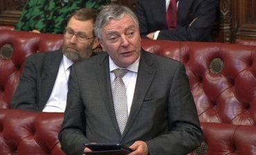 Tim Clement-Jones speaking in the House of Lords © BBC