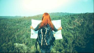 traveler-exploring