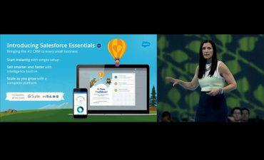 Salesforce Essentials keynote DF17 370px