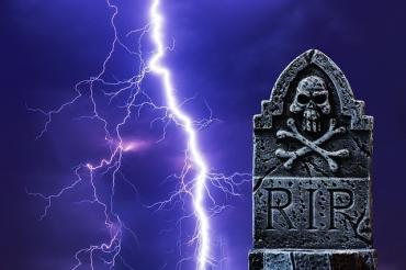 Death tombstone RIP