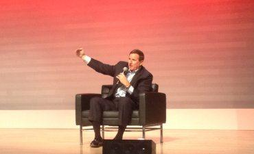 Mark Hurd at Oracle Cloud Analyst Summit 2018 370px