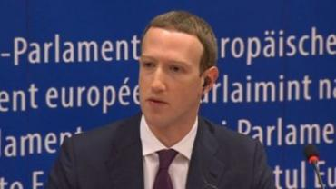 Mark Zuckerberg European Parliament