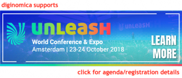 UNLEASH Amsterdam 2018 banner - diginomica supports