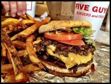 Data is the topping for burger firm Five Guys JV's Euro-expansion