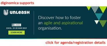 UNLEASH19 London banner - foster agile aspirational organisation