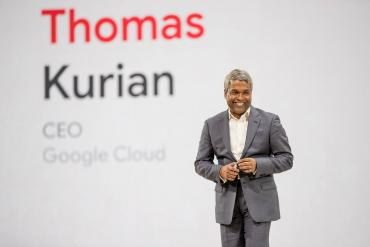 Image of Google Cloud CEO, Thomas Kurian