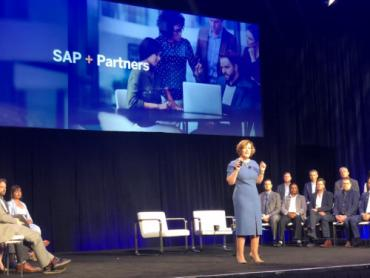 SAP Partner Summit 2019 keynote Adaire Fox-Martin 500px