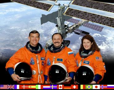 Image of NASA astronauts