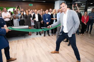 Image of Alex Osborne, Senior Director, ServiceNow, at new offices in Staines