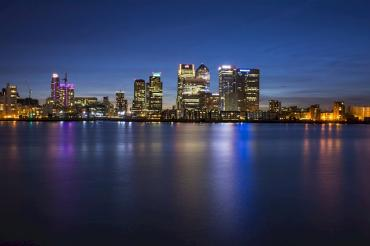 Image of Canary Wharf skyline