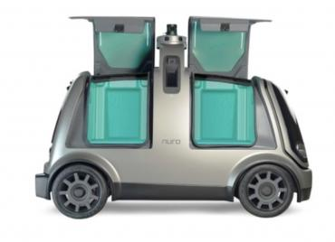 The self-driving pizza - coming to your door fresh from Domino's