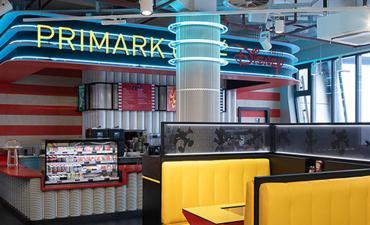 Primark Birmingham cafe retail experience
