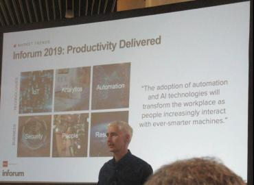 Infor productivity and AI