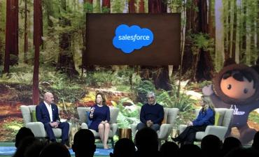 Dreamforce 2019 Future of Work panel by @philww