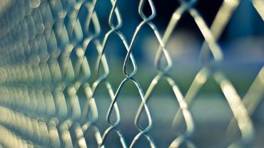 Image of a prison fence