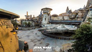 Image of Disney's Star Wars Galaxy's edge park
