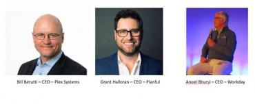Workday, Planful and Plex CEOs