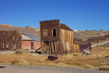 Abandoned house hotel