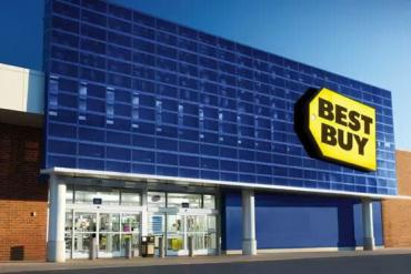 Image of a Best Buy store