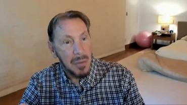 Larry Ellison on Zoom