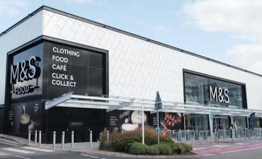 Marks and Spencer Nottingham Giltbrook store exterior