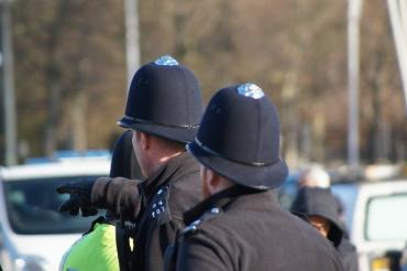 Image of police officers in england