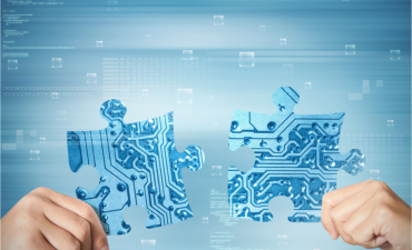Concept of system API centric integration of two partners © alphaspirit.it - Shutterstock