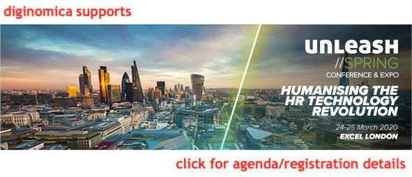 diginomica supports UNLEASH20 Spring London banner with cityscape background