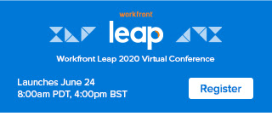 Workfront Leap Virtual Conference 2020