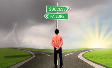 success-failure-road-for-businessman