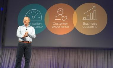 Lew Cirne speaks at New Relic event