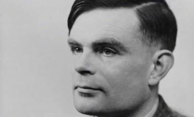 A photo of Alan Turing