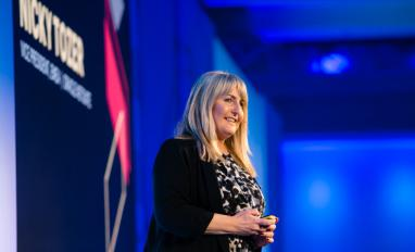 Nicky Tozer, NetSuite EMEA VP, at SuiteConnect 2019 London