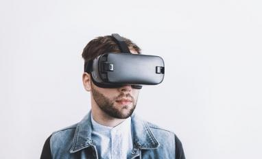 Image of someone using a VR headset