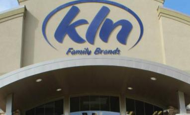 KLN Family Brands headquarters sign