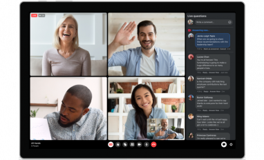 Workplace from Facebook Live Multi-Host Call Desktop